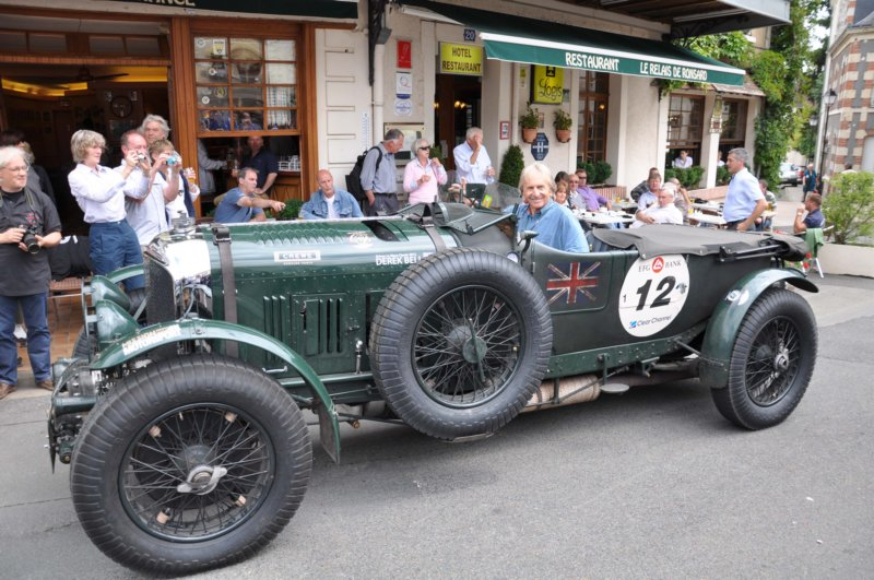 Derek Bell In Martin Overington S 4 5 Blower Bentley